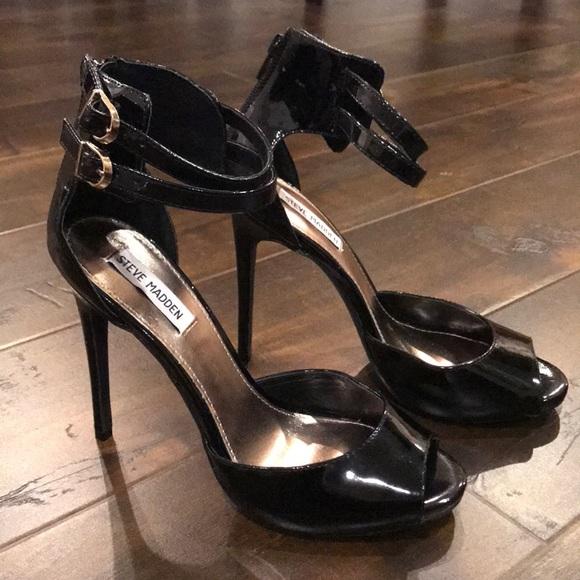 Steve Madden Shoes - Steve Madden Sexy Black Heels size 10 new
